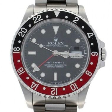 Reloj Rolex GMT Master Coke X-Serial Acero 16710