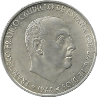 Moneda Estado Español 100 Pesetas Plata 18,99 g