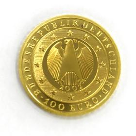 Moneda Alemania 100 Euros Oro 2002 15,55 g