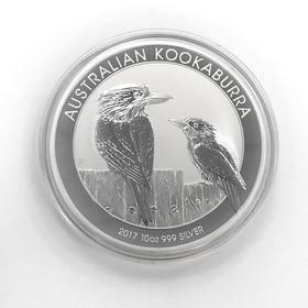 Moneda Australia Kookaburra Plata 2017 10 oz