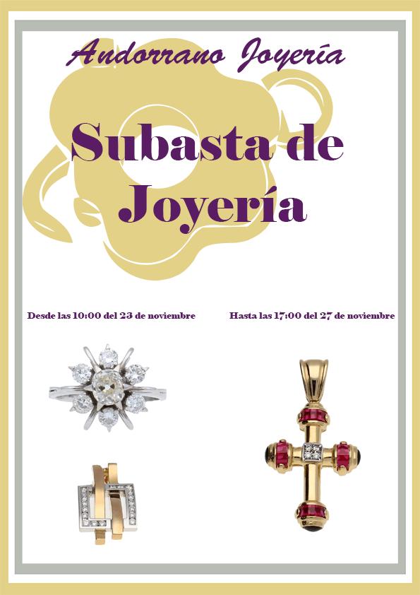 Subasta Joyería 2015