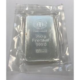 Lingote Argor Heraeus Plata 250 g