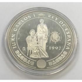 Moneda España 10000 Pesetas Plata 1997 168,40 g