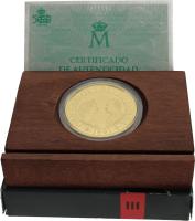 Moneda Juan Carlos I 80000 pesetas Oro 27 g