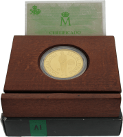 Moneda Juan Carlos I 40000 pesetas Oro 13,50 g