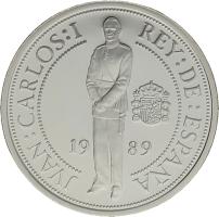 Moneda Juan Carlos I 1000 Pesetas Plata 13,50 g