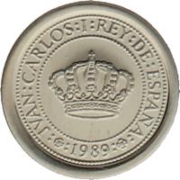 Moneda Juan Carlos I 100 Pesetas Plata 2 g