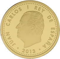 Moneda Juan Carlos I 100 Euros Oro 6,75 g