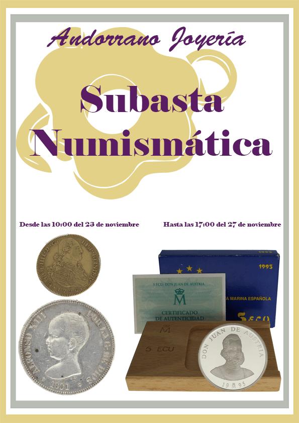 Subasta Numismática 2015