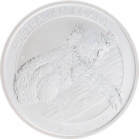 Moneda Australia 1 Dollar Koala Plata 2012 31,10 g