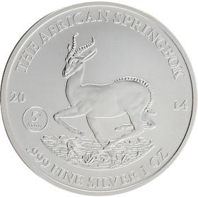 Moneda Gabón 1000 Francs Plata 2014 30,90 g