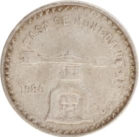 Moneda México Casa de la Moneda Plata 1980 33,61 g