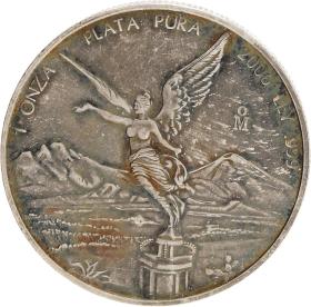 Moneda México Libertad Plata 2006 31,10 g