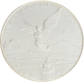 Moneda México Libertad Plata 2012 31,08 g
