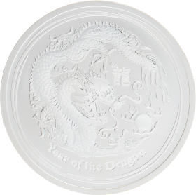 Moneda Australia 2 Dollars Año lunar del Dragón Plata 2012 62,20 g