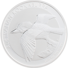 Moneda Australia 1 Dollar Kookaburra Plata 2011 31,10 g