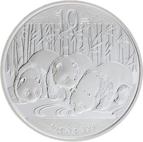 Moneda China 10 Yuan Panda Plata 2013 31,10 g