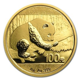 Moneda China Panda de 100 Yuan (Precintada) Oro 2016 8 g