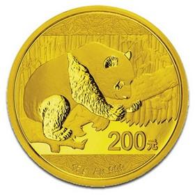 Moneda China Panda de 200 Yuan (Precintada) Oro 2016 15 g